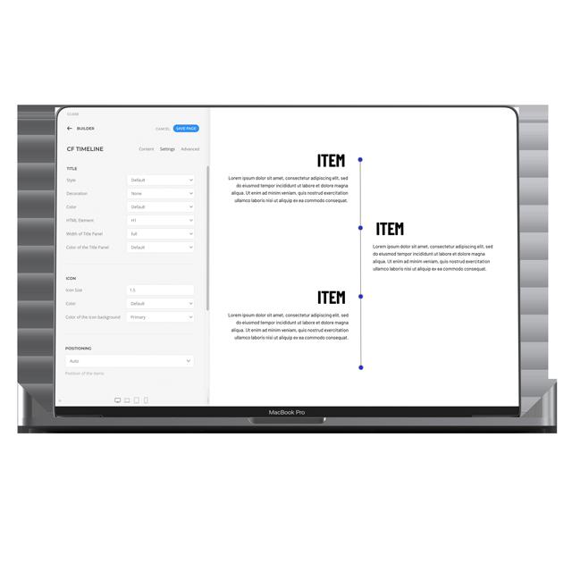 cf Timeline | cloudfood pro